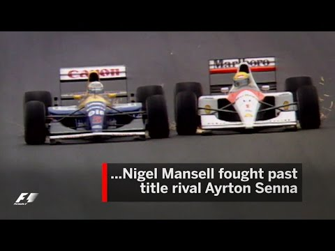 Mansell And Senna Battle In Barcelona | 1991 Spanish Grand Prix