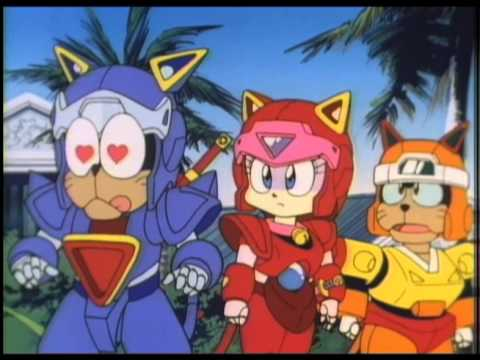 Samurai Pizza Cats Madman official trailer. Available on DVD from October 2013