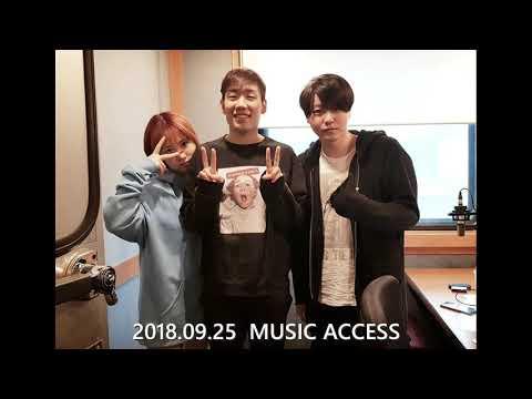 (Audio)180925 [Music Access] Bernard Park, Moon Kim, Jimin