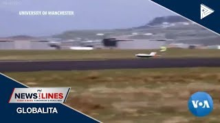 GLOBAL NEWS: Aviation technology takes off with flapless plane