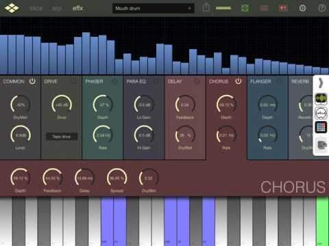 Virsyn Reslice / LaunchPad 4 iOS / StudioMux / AudioBus