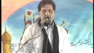SAALANA MAJLIS BAJARWALA ZAKIR SYED ZAIGHAM ABBAS SHAH SAB GUJRAT-17-10-2011