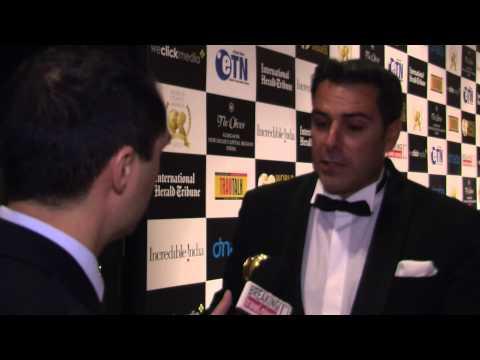 Fabrice Collot, general manager, Maradiva Villas Resort & Spa, at World Travel Awards Grand Final