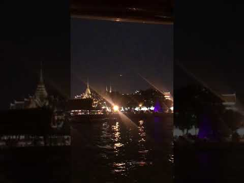 [Relax]Night sightseeing of Chaophraya