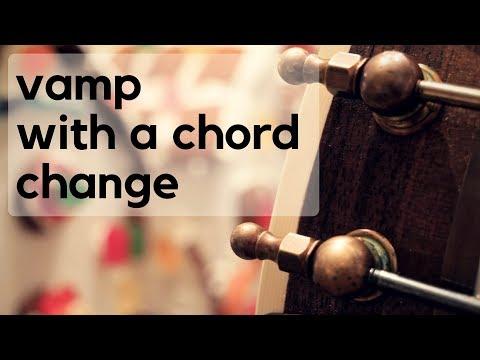 Banjo Blitz 45: Vamping while Modulating Chords