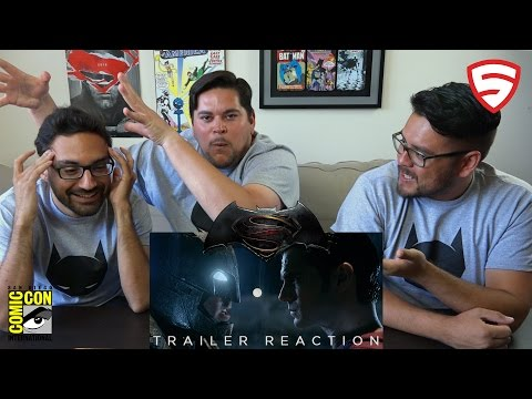 Batman v Superman: Dawn of Justice Comic-Con Trailer Reaction!