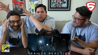 Superhero News: Batman v Superman: Dawn of Justice - Comic-Con Trailer Reaction!