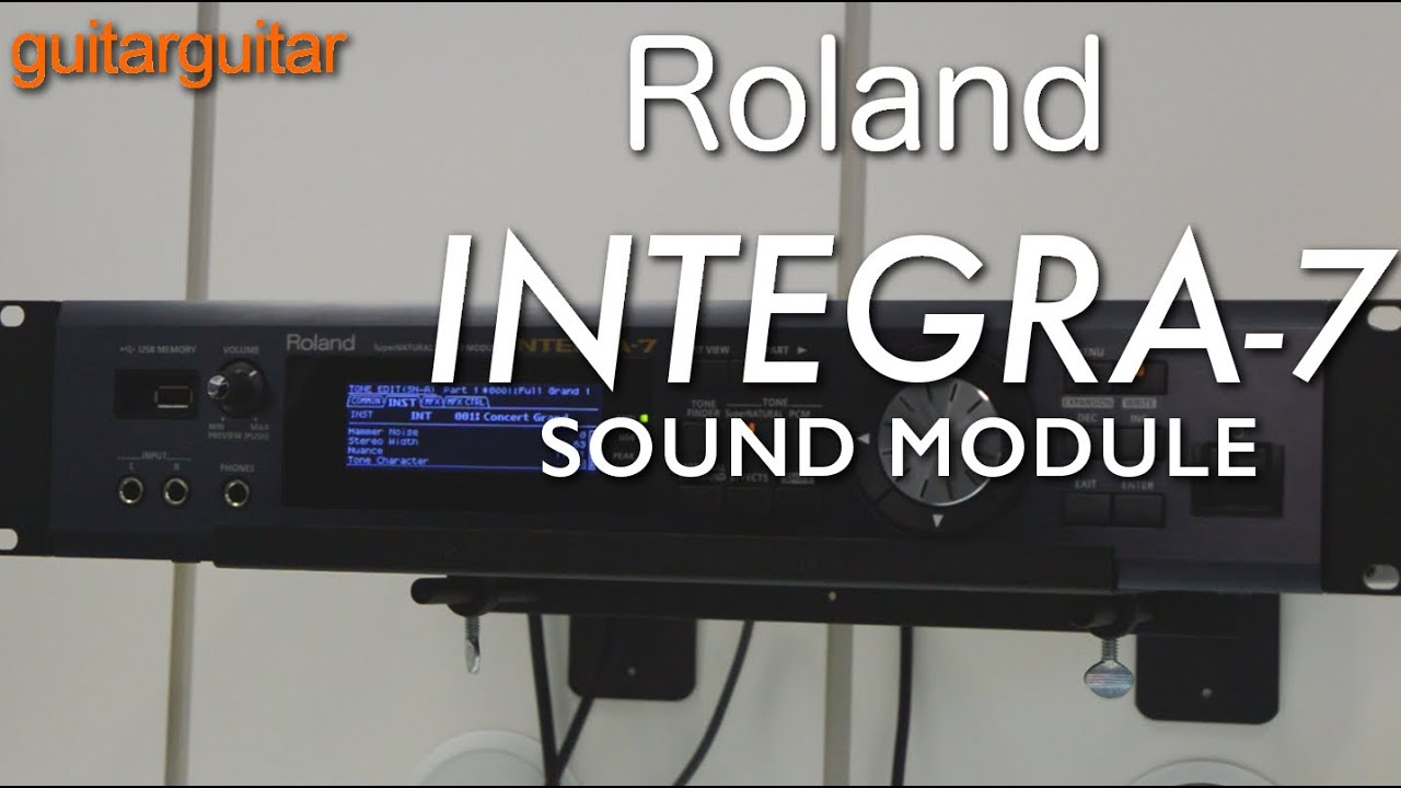 roland integra 7 sound module youtube. Black Bedroom Furniture Sets. Home Design Ideas