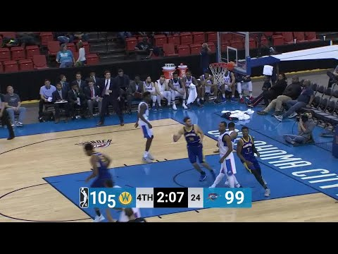 Quinn Cook Posts 32 points & 11 assists vs. Oklahoma City Blue
