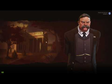 Civilization 6: Teddy Roosevelt