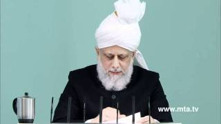 English Friday Sermon 6th January 2012 - Islam Ahmadiyya