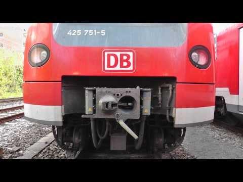 kuppeln zweier BR 425/coupling of two Class 425 EMU