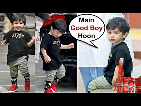 Taimur Ali Khan Turns Obedient Kid At His Playschool