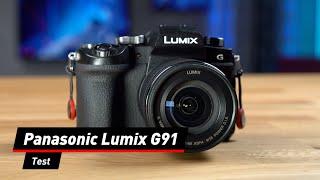 Kompakt und wetterfest: Panasonic Lumix G91 im Test