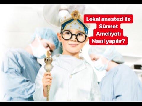 Lokal Anestezi Ile Sunnet Ameliyatı (Kanama Yok)