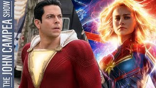 Shazam And Captain Marvel Triumph: State Of Comic Book Movies Is STRONG - The John Campea Show