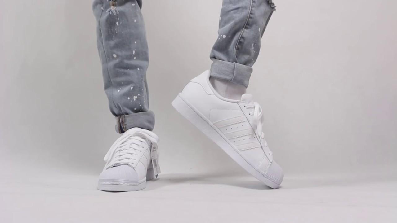 Adidas Superstar Foundation White : ai cũng cần một đôi giày trắng
