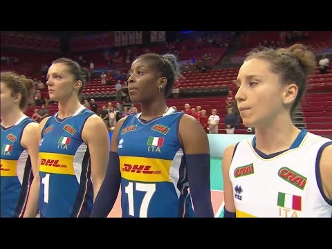 Women's VNL 2018: Turkey v Italy - Full Match (Week 1, Match 5)