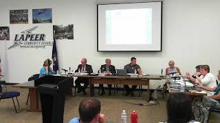 Lapeer Community Schools  Board of Education Meeting: June 7, 2018