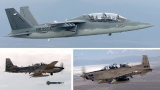 USAF Light Attack Aircraft Experiment – Scorpion, AT-6, A-29