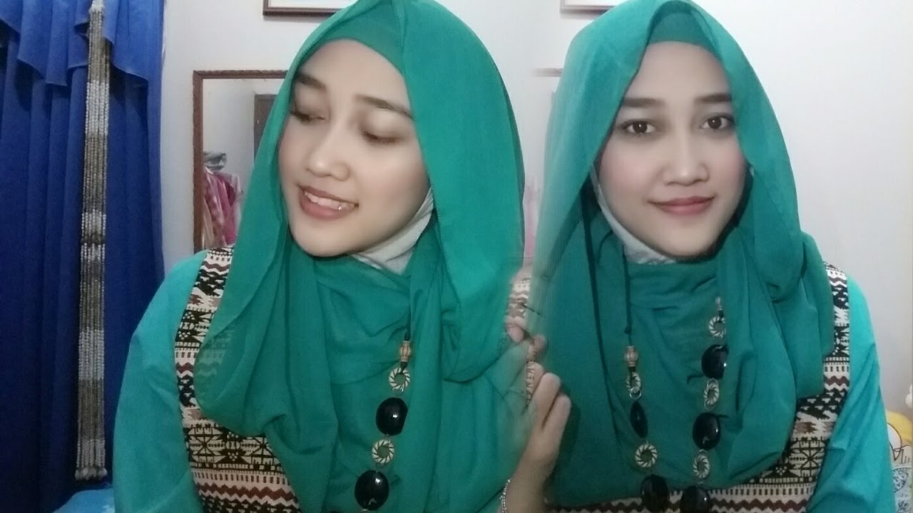 Tutorial Hijab Pashmina Ceruti Simple