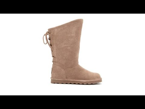 BEARPAW Phylly Suede LacedBack Boot