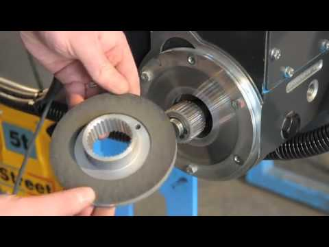 Wire Rope Hoist Adjusting The Motor Brake Youtube