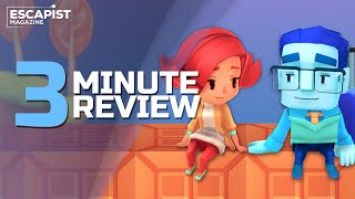 A Fold Apart | Review in 3 Minutes (Video Game Video Review)