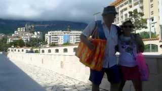 Бечичи Черногория(0:07 Бечичи с высоты 800 метров 0:20 питание в Бечичи за 2 евро 0:40 отель Тара в Бечичи 0:44 отель Медитеран в Бечичи..., 2013-07-27T19:19:05.000Z)