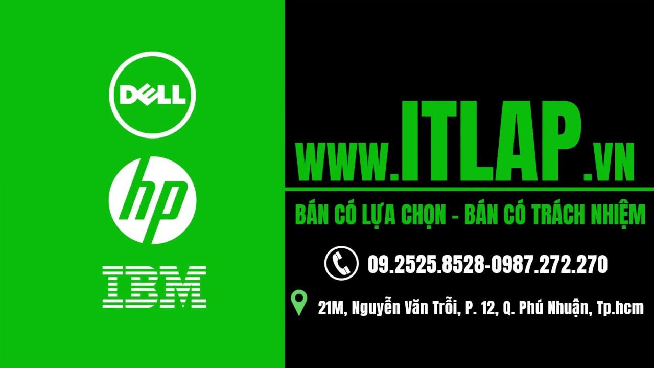 Laptop HP elitebook 8570p cũ review - ITLap vn
