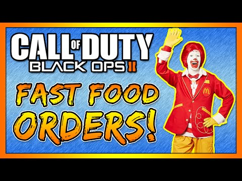 Taking Fast Food Orders on Call of Duty! #19 (Black Ops 2)