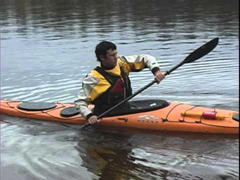 The Back / Reverse Stroke - Sea Kayak Technique