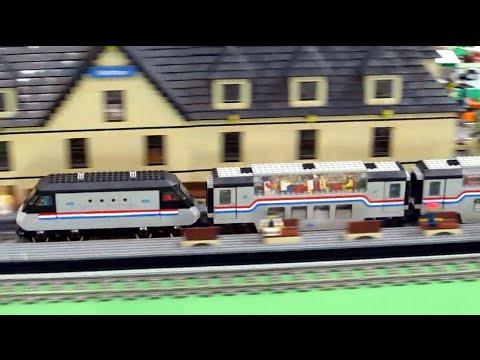 LEGO Train Metroliner 4558 + 4547  (10001 + 10002)