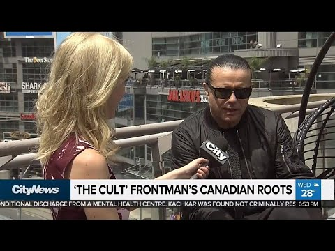 'The Cult' frontman has deep Canadian connections