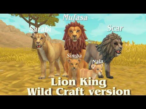 The Lion King Персонажи Короля льва в Wild Craft версии🌠(by Olivka)