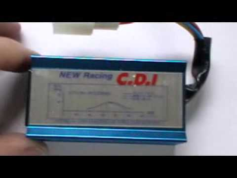 Racing CDI Unit 50cc 70cc 90cc 110cc ATV Quad Dirt Pit Bike  YouTube