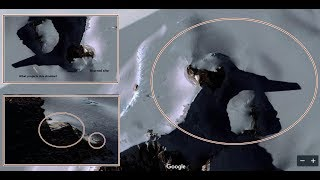 Huge Tower and Pyramid Found in Antarctica