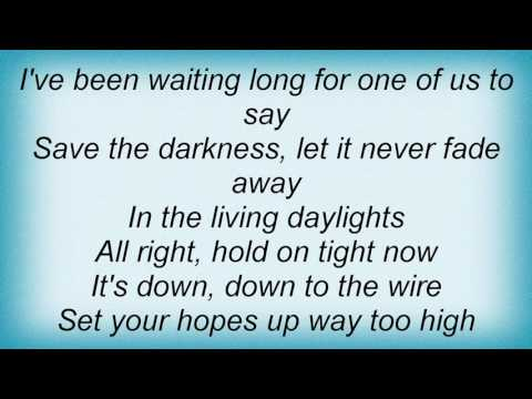 A-Ha - The Living Daylights (james Bond Theme) Lyrics