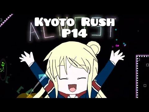 "{Mobile} ""Kyoto Rush"" by P14 - (Hard/Insane Demon?) [Geometry Dash 2.1]"