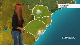 Previsão Sul - Ventos quentes na Região