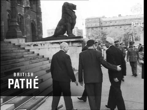Finland's President Kekkonen Arrives In Hungary  (1963)