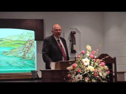 Pastor Bill Wingard 4 21 15 PM Service at Community Baptist Church, Ayden, NC