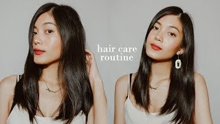 AFFORDABLE HAIR CARE ROUTINE (HEALTHY, SILKY, SHINY, SOFT HAIR)