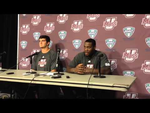 UMass Football Postgame Press Conference Following Loss To Vanderbilt