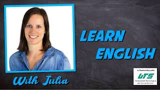 Learn English With Julia #18