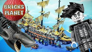 Silent Mary 71042 Lego Pirates of the Caribbean Stop Motion review