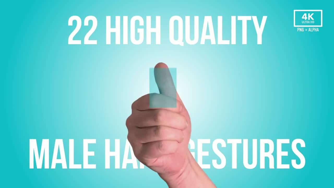 Hand Gestures and Fingerprints 4K Stock Video