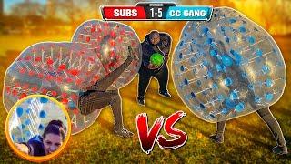 BUBBLE BALL SOCCER BALL CHALLENGE !!