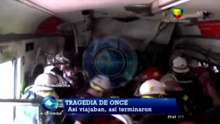 Exclusivo: El video de la tragedia de Once