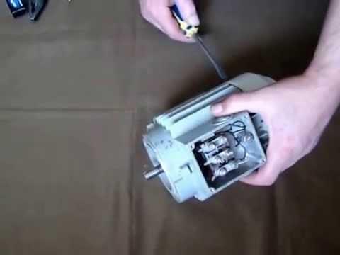 Как разобрать своими руками 3 фазный электродвигатель